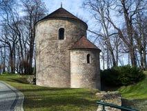 Cieszyn the rotunda of saint nicolas. Saint nicolas and saint wenceslas church in cieszyn, a romanesque rotunda built in the 12th century to serve the role of a stock photos