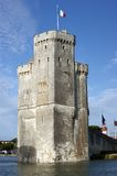 Saint Nicolas Tower - La Rochelle Harbour Royalty Free Stock Image