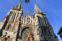 Saint Nicolasdomkyrka i Kiev Royaltyfri Foto