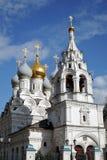 Saint Nicolasdomkyrka på den Bolshaya Ordynka gatan i Moskva Populär gränsmärke Royaltyfria Bilder