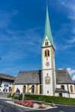 Saint Nicolaus in Mutters near Innsbruck, Austria. Stock Photos