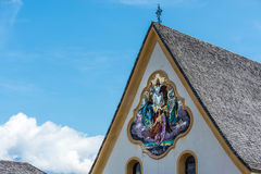 Saint Nicolaus in Mutters near Innsbruck, Austria. royalty free stock photography