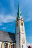 Saint Nicolaus in Mutters near Innsbruck, Austria. Stock Photo