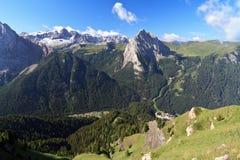 Saint Nicolo' valley Stock Image