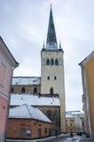 Saint Olaf church in Old Town Stock Photo