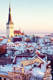 Saint Olaf church in Tallinn Royalty Free Stock Photo