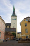 Saint Olaf church Stock Image