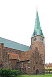 Saint Olaf's Church, Helsingoer Royalty Free Stock Photo