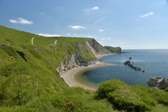 Free Saint Oswalds Bay Near Lulworth Cove Stock Images - 75831984