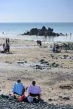 Saint Pabu de plage Photographie stock libre de droits