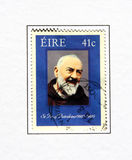 Saint padre pio Royalty Free Stock Photos
