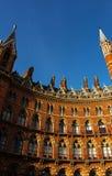 The Saint Pancras `s Station, London. Royalty Free Stock Photography