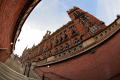 Saint Pancrass station Stock Images
