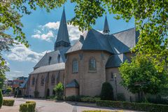 Saint Pancratius Church in Geesteren. Twente, the Netherlands royalty free stock photography