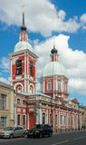 Saint Pantaleon's Church in Saint Petersburg Royalty Free Stock Photography