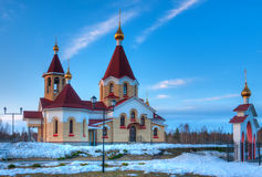 Saint Panteleimon church, Petrozavodsk, Russia Royalty Free Stock Photography