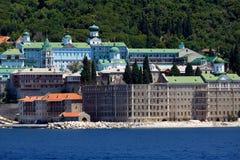 Saint Panteleimon Monastery, Athos Peninsula Royalty Free Stock Photography