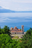 Saint Panteleimon monastery in Ohrid, Macedonia Royalty Free Stock Photography
