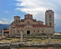 Saint Pantelejmon church - Plaosnik monastery Ohrid Stock Photos