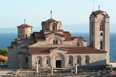 Saint Panteleymon Church In Ohrid, Macedonia Royalty Free Stock Photos