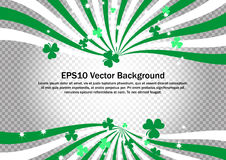 Saint Particks Day Vector clip art for backdrop, banner, wallpaper and border decoration Royalty Free Stock Photos