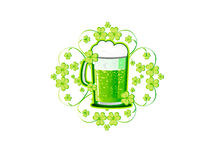 Saint Patrick�s Day background Royalty Free Stock Image