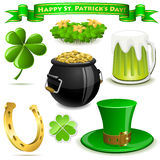 Saint Patrick�s Day symbols Royalty Free Stock Photos