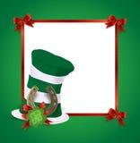 Saint Patrick card Stock Photo
