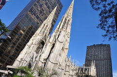 Saint Patrick Cathedral Royalty Free Stock Images