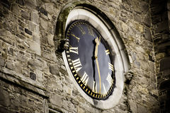 Saint Patrick Cathedral Clock Stock Photography