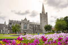 Saint Patrick Cathedral in Dublin Stock Photos