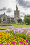 Saint Patrick Cathedral in Dublin Stock Photo