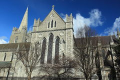 Saint Patrick Cathedral in Dublin Royalty Free Stock Image
