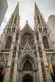 Saint Patrick Cathedral Manhattan New York Royalty Free Stock Images