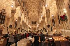 Saint Patrick Cathedral New York City, EUA imagem de stock royalty free