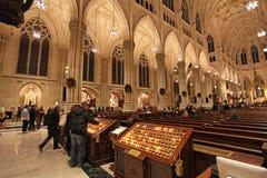 Saint Patrick Cathedral New York City, EUA foto de stock royalty free