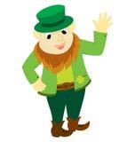 Saint Patrick Character Stock Image