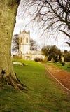 Saint Patrick church on sacred land at Tara Hill stock image