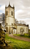 Saint Patrick church on Tara Hill in Ireland Stock Photo
