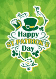 Saint patrick day background Stock Image