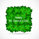 Saint Patrick Day Background Vector Illustration Stock Photography