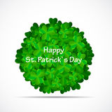 Saint Patrick Day Background Vector Illustration Royalty Free Stock Photo