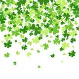 Saint Patrick Day Beer Festival Banner de fond de modèle d'oxalide petite oseille Images stock