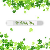 Saint Patrick Day Beer Festival Banner Greeting Card Royalty Free Stock Photography