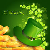 Saint Patrick Day Beer Festival Banner Greeting Card Stock Photography