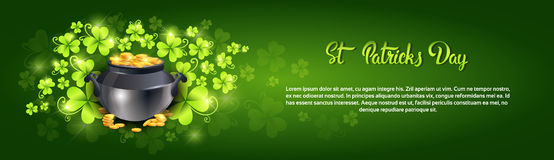 Saint Patrick Day Beer Festival Banner Greeting Card Royalty Free Stock Image