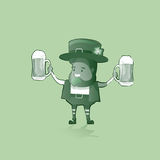 Saint Patrick Day Beer Festival Banner Greeting Card Royalty Free Stock Photos