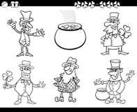 Saint patrick day coloring book Royalty Free Stock Photo