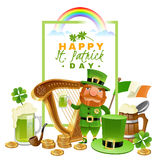 Saint Patrick Day Concept Stock Photography