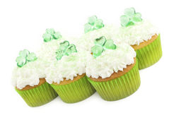 Saint Patrick Day Cupcakes Stock Image